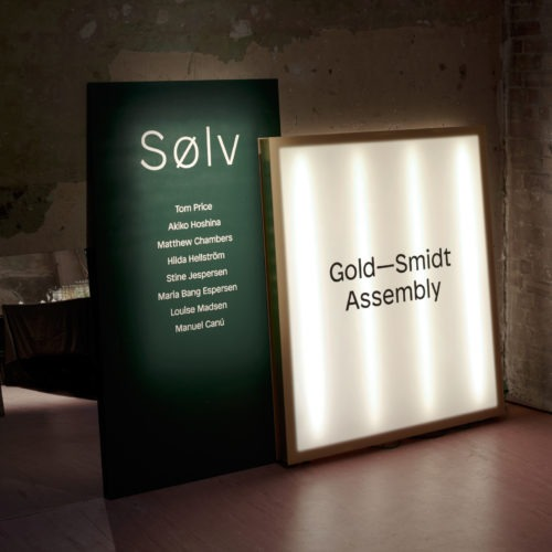 Gold-Smidt Assembly SØLV exhibition